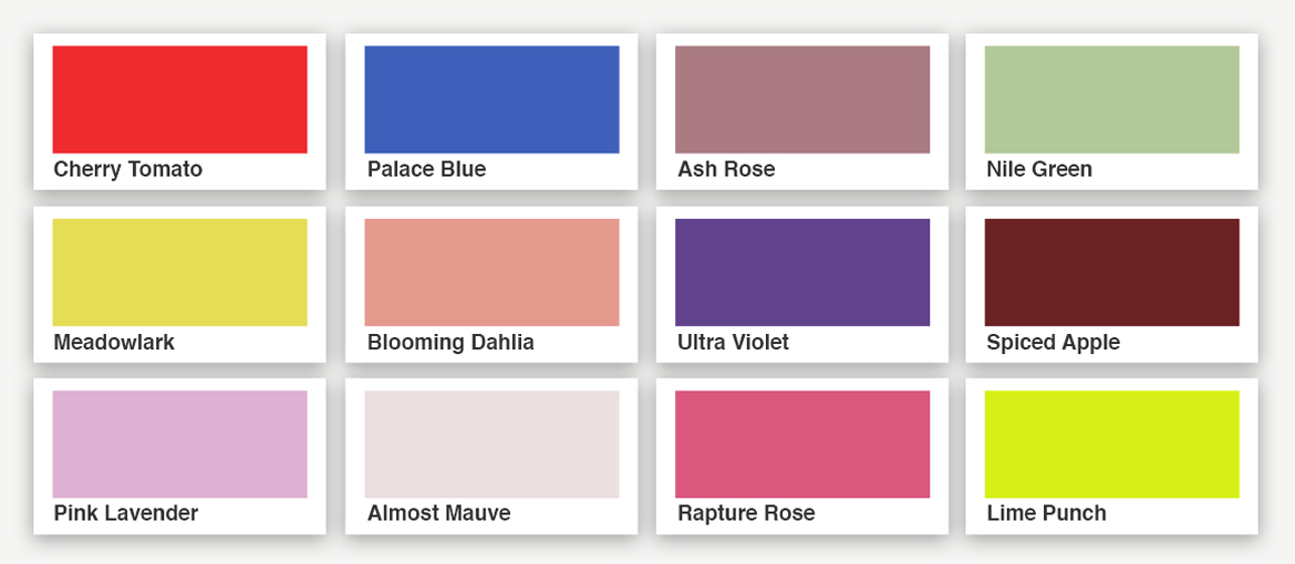 what colour is summer pantone summer 2018 colours pixartprinting