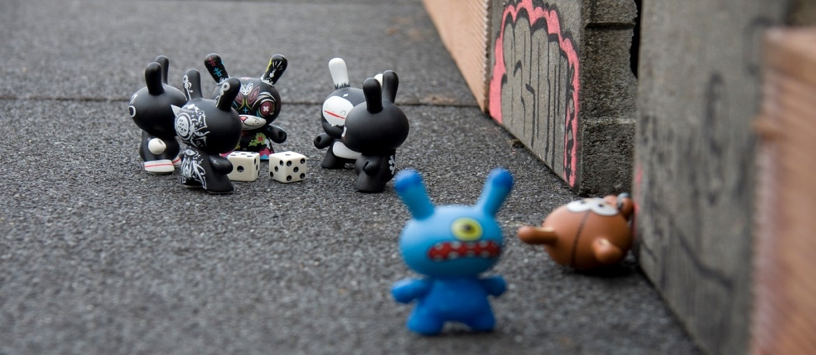 An animation scene filmed using stop motion. Image: flickr/Arden [ CC BY-SA-2.0